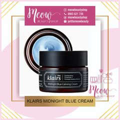 KEM DƯỠNG DA KLAIRS MIDNIGHT BLUE CALMING CREAM (30g-60g)