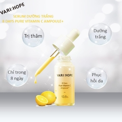VARI:HOPE - Serum Dưỡng Trắng 8 Ngày Vari Hope 8 days Pure Vitamin C Ampoule Plus (15ml))