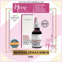 So Natural - Tinh chất tái tạo da Red Peel Tingle Serum (2.5ml - 20ml - 35ml)