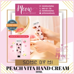 Some By Mi - Kem Dưỡng Da Tay Đào Some By Mi Peach Vita Hand Cream (30ml)
