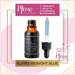 KLAIRS - Tinh Chất Midnight Blue Youth Activating Drop 20ml