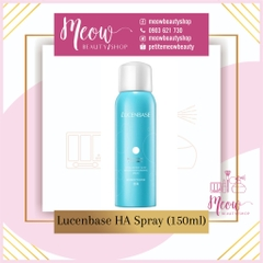 LUCENBASE // Xịt khoáng HA Hyaluronic Acid Repair Moisturizing Spray