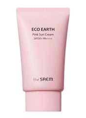(Mẫu 2020) The Saem - Kem chống nắng The Saem eco earth oower pink sun cream SPF50+ PA++++ 50ml