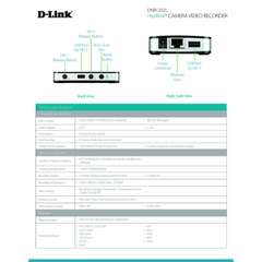Đầu ghi cho camera D-Link Camera Video Recorder DNR-202L