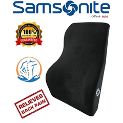 Đệm Tựa Lưng - Samsonite SA5447 \ Full Size Lumbar Support \ 100% Pure Memory Foam \ Helps Relieve Lower
