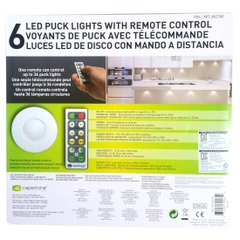 Bộ đèn Capstone 6 LED Wireless Puck Lights with Remote Control