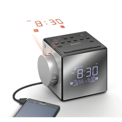 Đài radio Sony ICF-C1PJ Alarm Clock with Time Projector