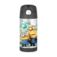 Bình giữ nhiệt đồ uống cho trẻ Thermos Funtainer Bottle 355ml - 12h, Minions