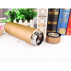Bình giữ nhiệt BuyNeed Leak Proof Coffee Thermos Vacuum Insulated Cup Drink Bottle, 470ml