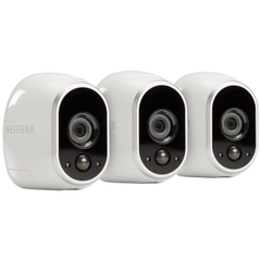 Bộ camera không dây Netgear Arlo Wire-Free Security System with 3 HD Cameras
