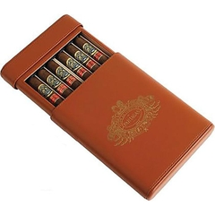 Bao da đựng cigar Partagas Leather Decadas Special Travel - 6 điếu