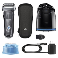 Máy cạo râu Braun Series 7 Smart Shaver with Clean & Charging System 790cc