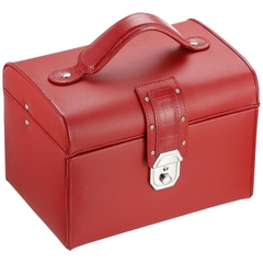 Hộp đựng nữ trang Bucasi Red Leather Jewelry Box TS350RED