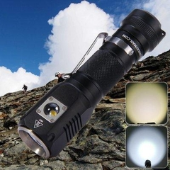 Đèn pin mini siêu sáng Sunwayman C22C Dual-light Night Traveler 1000 Lumens