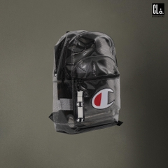 Champion Supersize Clear Backpack/ BLACK