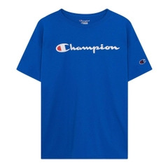 Champion Tagless Basic Logo T-shirt/ Blue