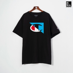 Champion, Jersey Big Logo T-Shirt - Black