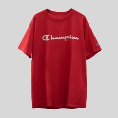Champion Tagless Basic Logo T-shirt/ Red