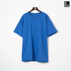 Champion, Tagless Basic Tee/Blue