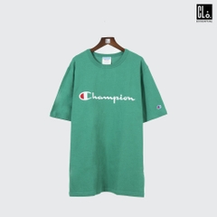 Champion LIFE, Heritage Script Embroidered T-Shirt /Kelly Green