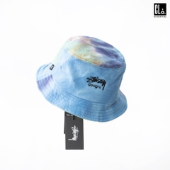 Stussy Designs Tie Dye Bucket Hat Pastel × ONE