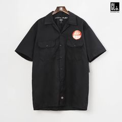 Dickies, DW Flex SS Twill Workshirt - Black