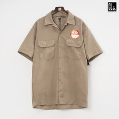 Dickies, DW Flex SS Twill Workshirt /Desert Sand