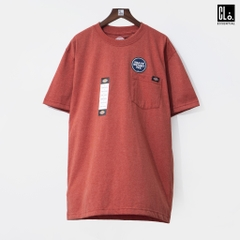 Dickies, S/S Heavyweight T-Shirt - Rustic Red Single Dye Heather