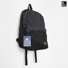 Champion Heather Black/Black 21L Script Backpack
