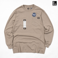 Dickies, Long Sleeve Heavyweight Crew Neck Shirt - Desert Sand