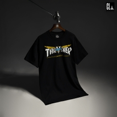 Thrasher, Venture Collab T-Shirt - Black