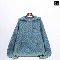Champion, UO Exclusive Tiger Hoodie - Green Multi