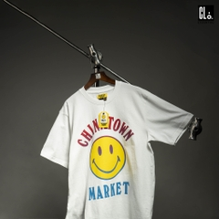 Chinatown Market Smiley Logo Tee /White