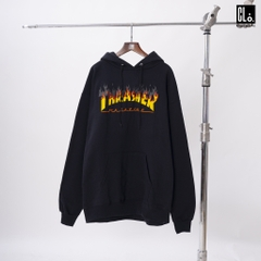 Thrasher, BBQ Pullover Hoodie - Black