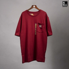 Carhartt, Workwear Pocket T-Shirt/ Sun Dried Tomato Heather Red