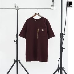 Carhartt, (K87) Workwear Pocket T-Shirt/ Maroon