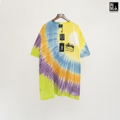 Stussy Tribe Tie Dye SS Tee/Yellow