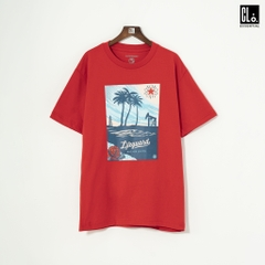 OBEY, Lifeguard Not On Duty T-Shirt /Duty RED