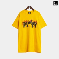 Thrasher, Crows T-Shirt - Gold