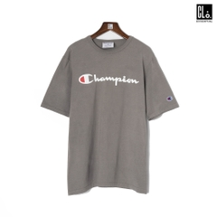 Champion Garment Dyed Printed Short Sleeves T-shirt /Concrete