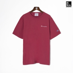 Champion Garment Dyed Short Sleeves T-shirt/ Crimson