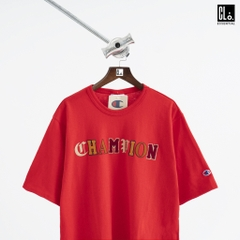 Champion Heritage Tee, Old English Lettering T-shirt/ Red