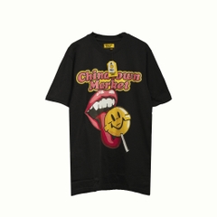 Chinatown Market Smiley Lollipop T-shirt/ Black