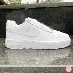 [314192-117] K NIKE AIR FORCE 1 LOW WHITE