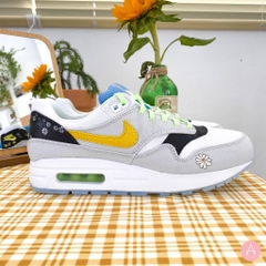 [CW5861-100] K NIKE AIR MAX 1 DAISY YELLOW/BLACK