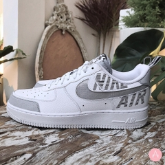 [BQ4421-100] M NIKE AIR FORCE 1 UNDER CONSTRUCTION WHTIE SILVER