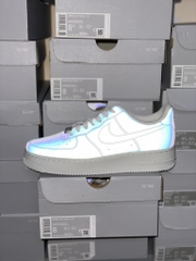 [DC2062-100] W NIKE AIR FORCE 1 LOW REFLECTIVE WHITE '07