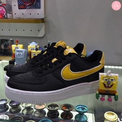 [AA0287-005] W NIKE AIR FORCE 1 SE SATIN BLACK WHEAT GOLD