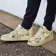 [823511-700] M NIKE AIR FORCE 1 LIGHT GREEN CAMO 07' LV8