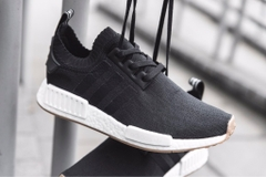 [BY1887] M ADIDAS NMD R1 PRIMEKNIT BLACK WHITE